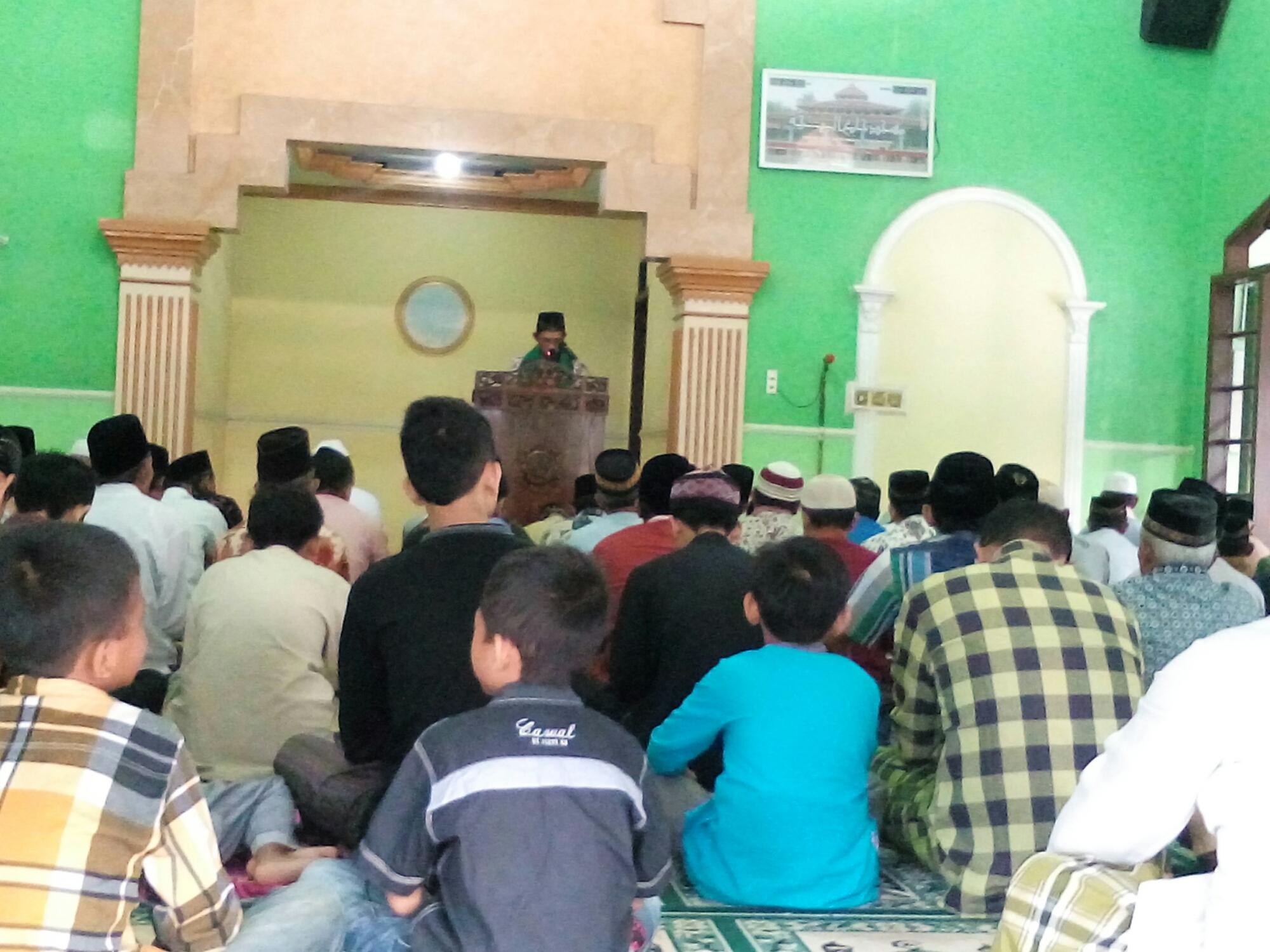 Solat Idul Adha di Masjid Jami Baitun Najjah