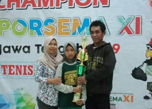 Juarai Tenis Meja, Siswa MIMA Pangebatan Sumbang Emas