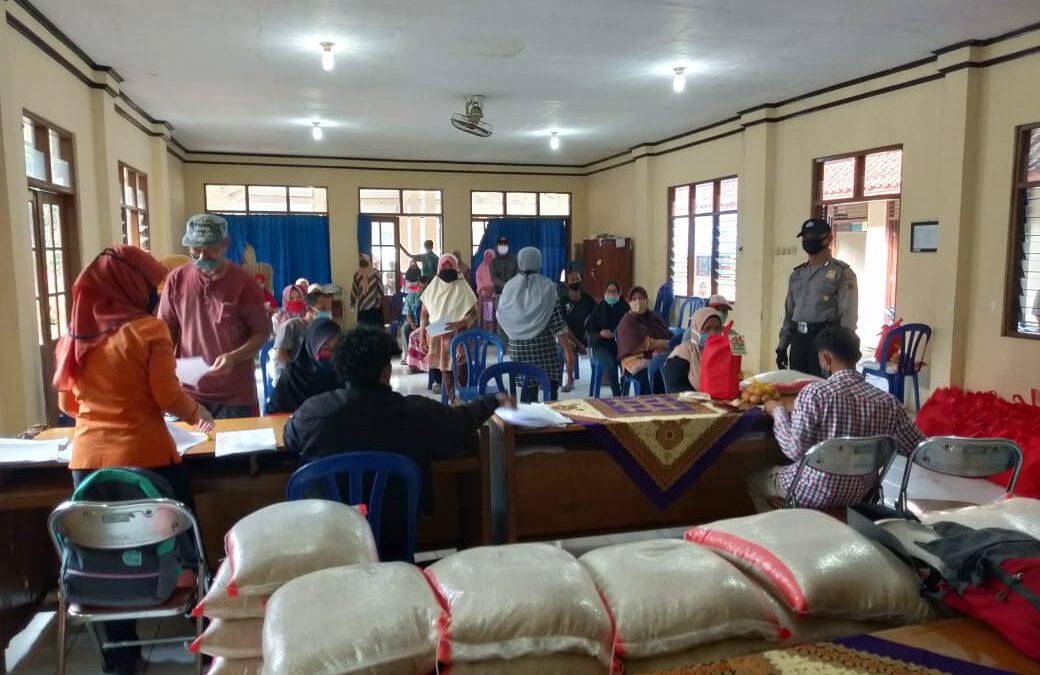 Pembagian BSNT Desa Pangebatan